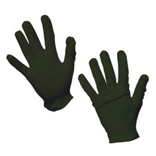 Black Cotton Gloves Child Costume