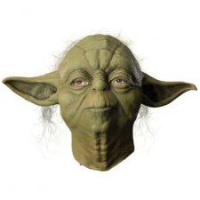 Star Wars Yoda Overhead Latex Mask
