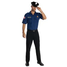 Dark Blue Police Officer Costume