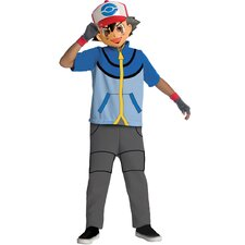 Pokemon Ash Costume
