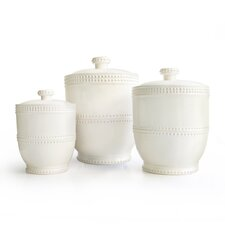 3 Piece Bianca Canister Set (Set of 3)