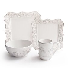 Marseille 16 Piece Dinnerware Set