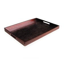 Greenwich Tray in Wine