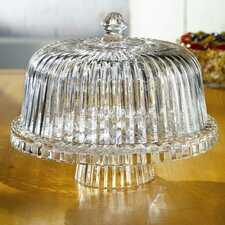 <strong>Crystal Clear</strong> Alexandria Domed Cake Plate