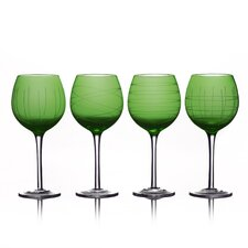 4 Piece Melaina Wine Glass Set