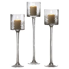 Wellington Candle Holders (Set of 3)