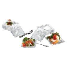 Lugano 25 Piece Taster Plates Set