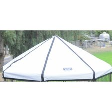 "0.5"" H x 5' W x 5' D Pet Gazebo Replacement Cover"