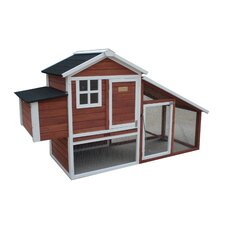 <strong>Advantek</strong> The Farm House Poultry Chicken Coop with Nesting Box