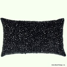 AV Home Jewel Beads and Silk Dupioni Rectangle Pillow