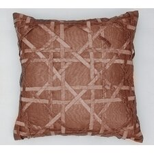 AV Home Lattice Silk Dupioni Pillow