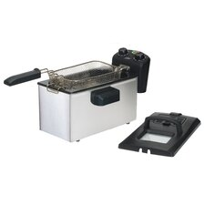 Elite Gourmet 14-Cup Deep Fryer with Timer
