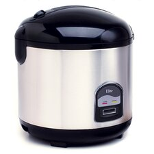 Elite Platinum 10-Cup Multifunction Stainless Steel Rice Cooker