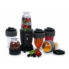Elite Cuisine 17 Piece Personal Drink Mixer and Blender Set