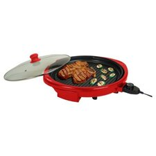 "14"" Round Health Grill with Lid"