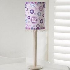 Bali Girl Appliqued Lampshade