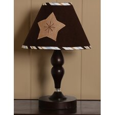 Lamp Shade - Moon and Star Brown / Blue