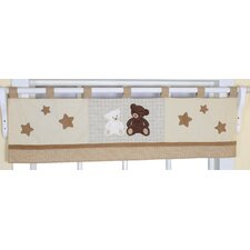 <strong>Geenny</strong> Teddy Bear Cotton Blend Curtain Valance