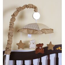 Music Teddy Bear Crib Mobile