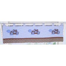 Sea Turtle Cotton Blend Curtain Valance