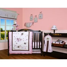 Boutique Blossom Quilt 12 Piece Crib Bedding Set