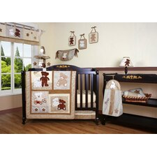 <strong>Geenny</strong> Boutique Teddy Bear 13 Piece Crib Bedding Set