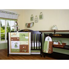 Boutique New Froggy Froggie 12 Piece Crib Bedding Set