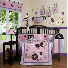 <strong>Geenny</strong> Boutique Daisy Garden 13 Piece Crib Bedding Set