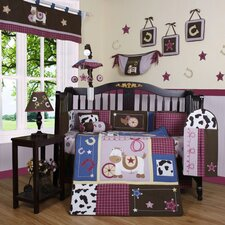 Boutique Western Cowgirl 13 Piece Crib Bedding Set