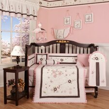 Boutique Blossom Quilt 13 Piece Crib Bedding Set