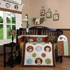 Boutique Animal Scholar 13 Piece Crib Bedding Set