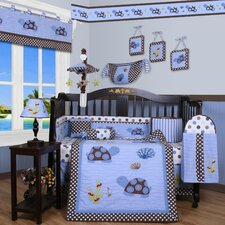 <strong>Geenny</strong> Boutique Sea Turtle 13 Piece Crib Bedding Set