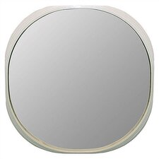 <strong>Art Dreams</strong> Deja Vu Mirror White Round Mirror - Large
