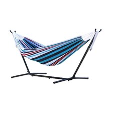 Fabric Hammock with Stand