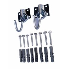 Double Hook Hardware Set