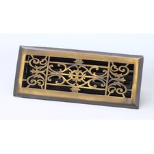 "2.25"" x 12"" Decorative Floor Register"
