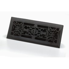 "4"" x 12"" Decorative Floor Register"