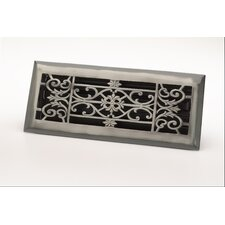 "4"" x 10"" Decorative Floor Register"