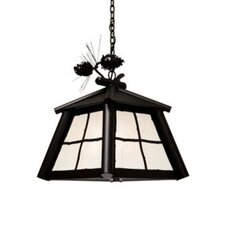 Saranac 1 Light Hanging Lantern