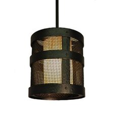 <strong>Steel Partners</strong> Portland Open Mesh 1 Light Hanging Lantern