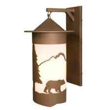 Bear Pasadena Extra Large Hanging 1 Light Wall Sconce