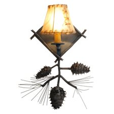 <strong>Steel Partners</strong> Ponderosa Pine 1 Light Wall Sconce