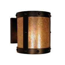 Rivets Open 1 Light Wall Sconce