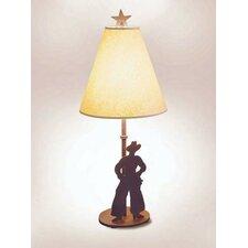 """Cowboy Narrow 30"""" H Table Lamp with Empire Shade"""