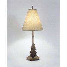 """Tree Narrow 30"""" H Table Lamp with Empire Shade"""