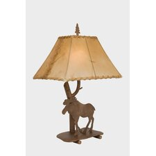 "Moose Shasta 22"" H Table Lamp with Rectangle Shade"