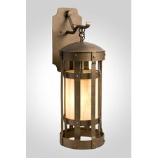 <strong>Steel Partners</strong> Duomo 1 Light Hanging Wall Sconce