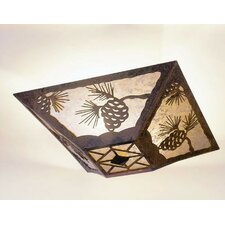 Pinecone Drop Ceiling Mount