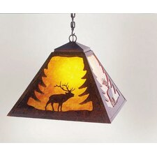 <strong>Steel Partners</strong> Elk 1 Light Swag Pendant