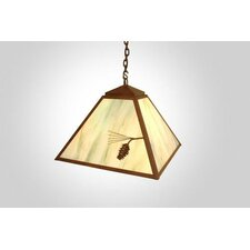 Ponderosa Pine 1 Light Swag Pendant